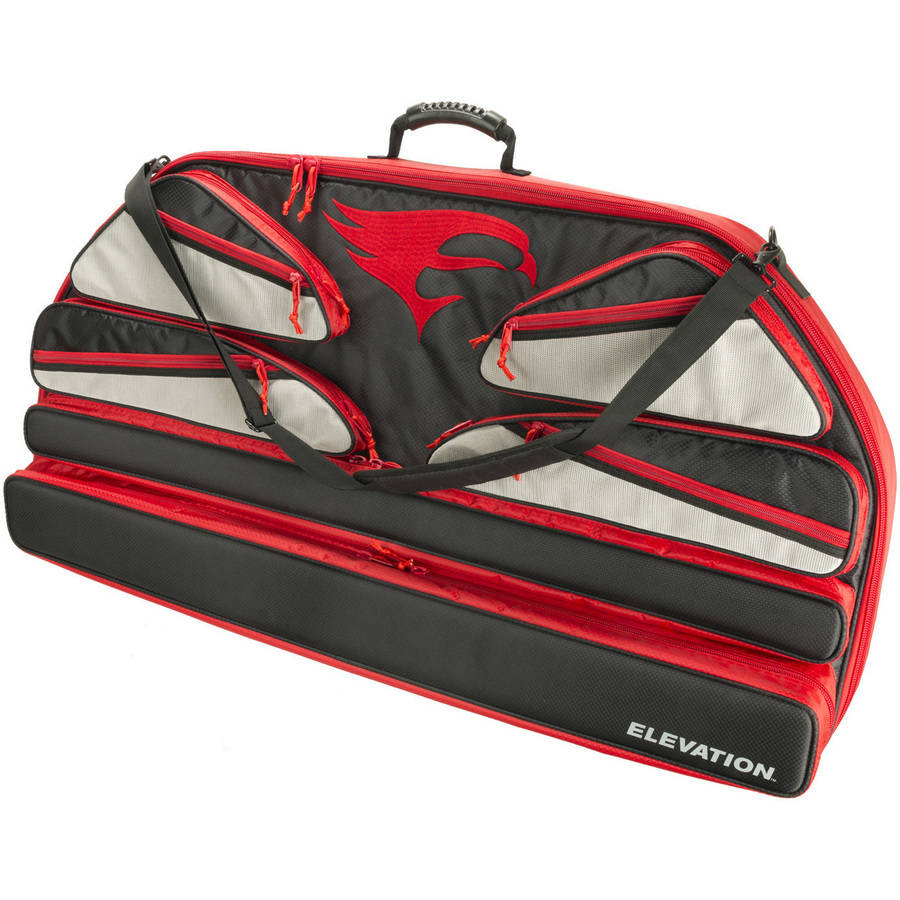 Elevation Altitude Bow Case, Red, 41""