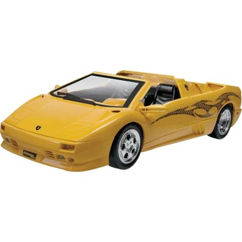 1 24 SnapTite Lamborghini Diablo VT Roadster Plastic Model Kit by Revell-Monogram, LLC