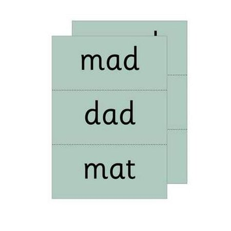 Read Write Inc. Phonics: Green Word Cards (Words To Write In A Baptism Card)