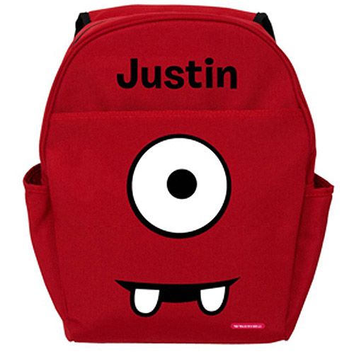 Personalized Yo Gabba Gabba! Muno Face Red Backpack