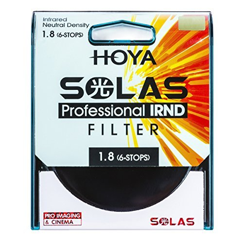 Hoya SOLAS IRND 1.8 55mm Infrared Neutral Density Filter - image 1 of 1