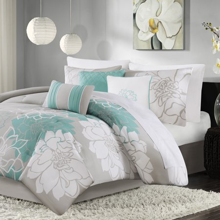 Home Essence Jane Cotton Sateen Comforter Printed Bedding Set