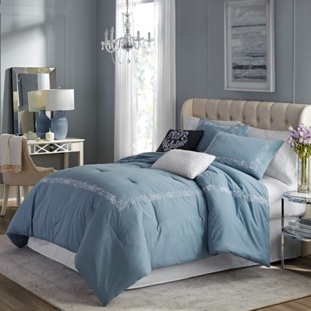 Hotel Style Fresca Embroidered Duvet Cover Set, 3