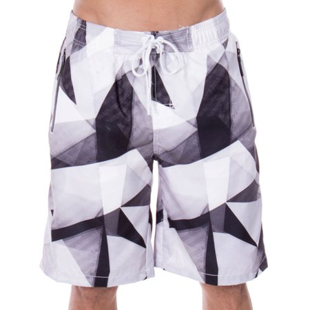 1c104d5212 Men's Swim Trunks Mesh Lining Beachwear Board Shorts with Pockets,X-Large -  Walmart.com
