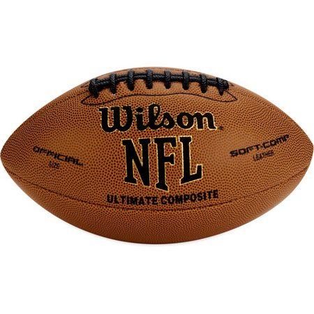 Nfl Team Logo Football - Wilson NFL Ultimate Tack Composite Football- Official Size
