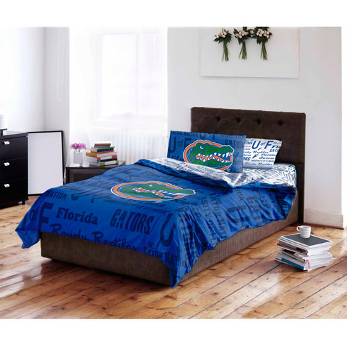 Marvelous NCAA University Of Florida Gators Bed In A Bag Complete Bedding Set