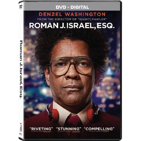 Roman J  Israel  Esq   Dvd   Digital