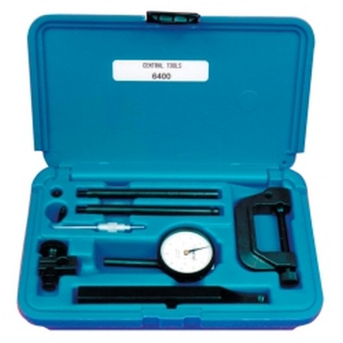 "Central Tools 6400 .200"", 0-100mm Range Dial Indicator Set"