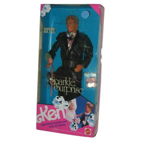 Barbie Ken Sparkle Surprise Wearing Tux w/ Rose For (1991) Vintage Mattel Doll - Barbie And Ken Costumes For Adults