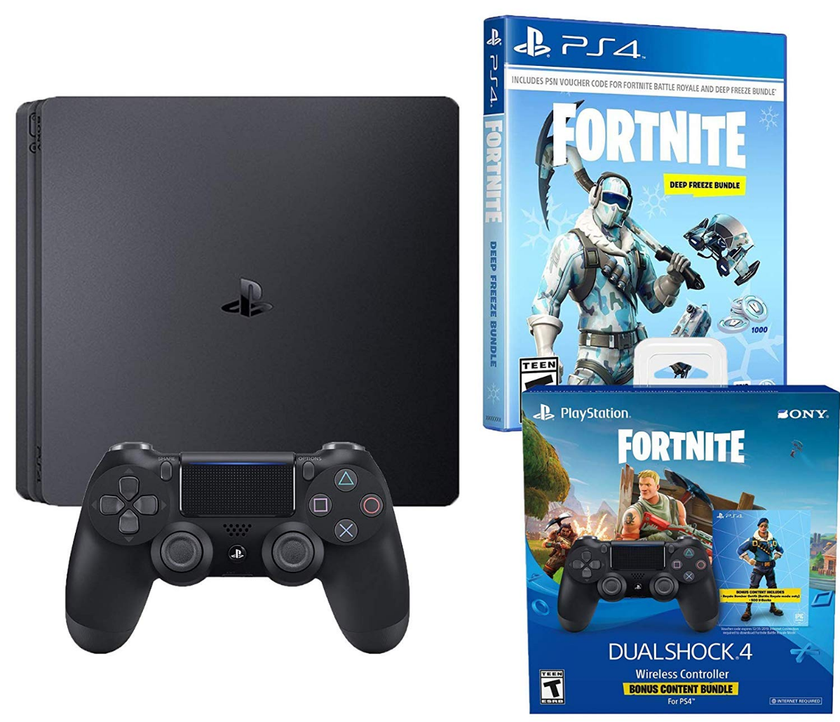 Playstation 4 Battle Royale Fortnite Frostbite and Royale
