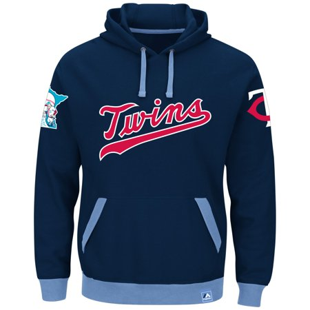 "Minnesota Twins Majestic MLB ""Forever"" Cooperstown Hooded Sweatshirt by"