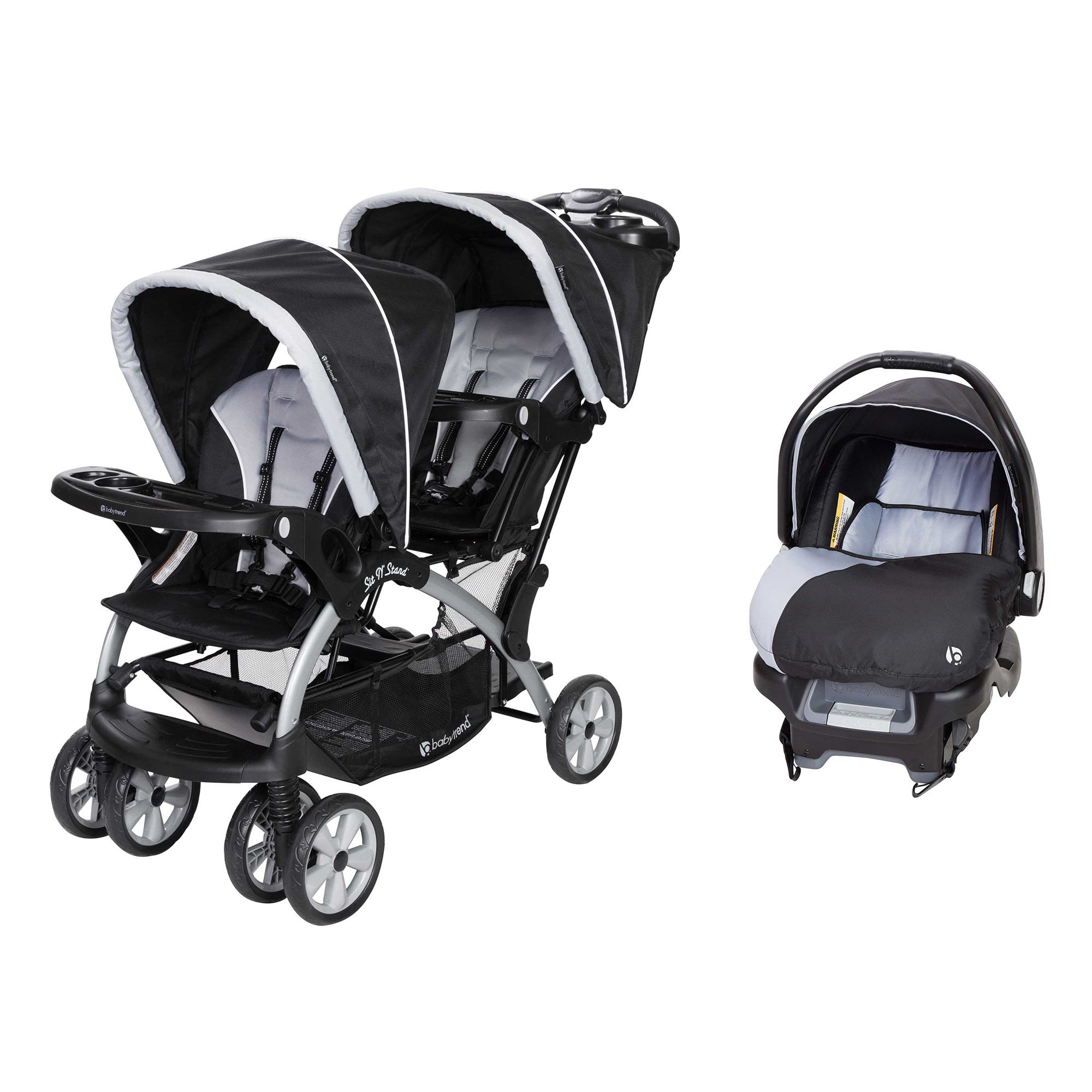 Tandem Stroller Car Seats, Double Strollers With Car Seats