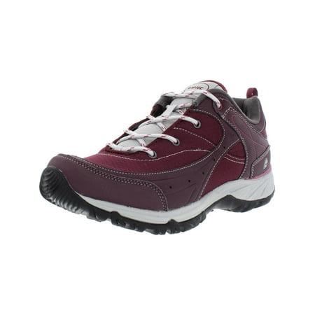 Hi-Tec Women's Equilibrio Bijou Low I Vineyard Wine / Cool Grey Ankle-High Mesh Hiking Shoe - 11N