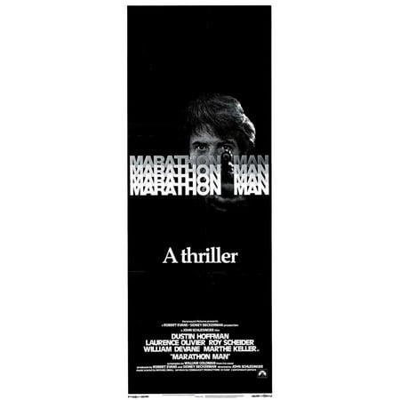 Marathon Man POSTER Movie Insert A (14x36) - Halloween Movie Marathon 2017
