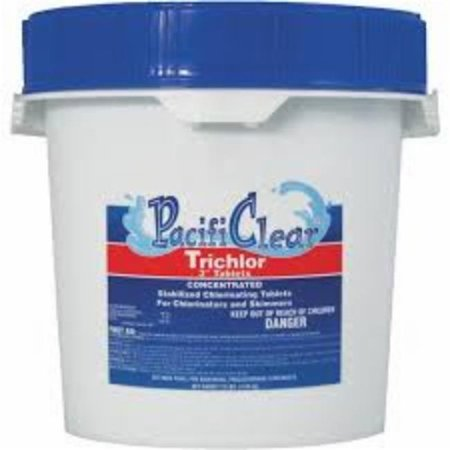 Water Techniques F008010040PC Trichlor 3 in. Tablets - 10 lbs Pail - image 1 of 1
