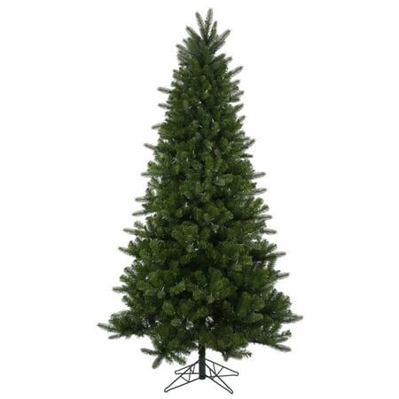 vickerman pre lit 75 ogden fir artificial christmas tree led warm white