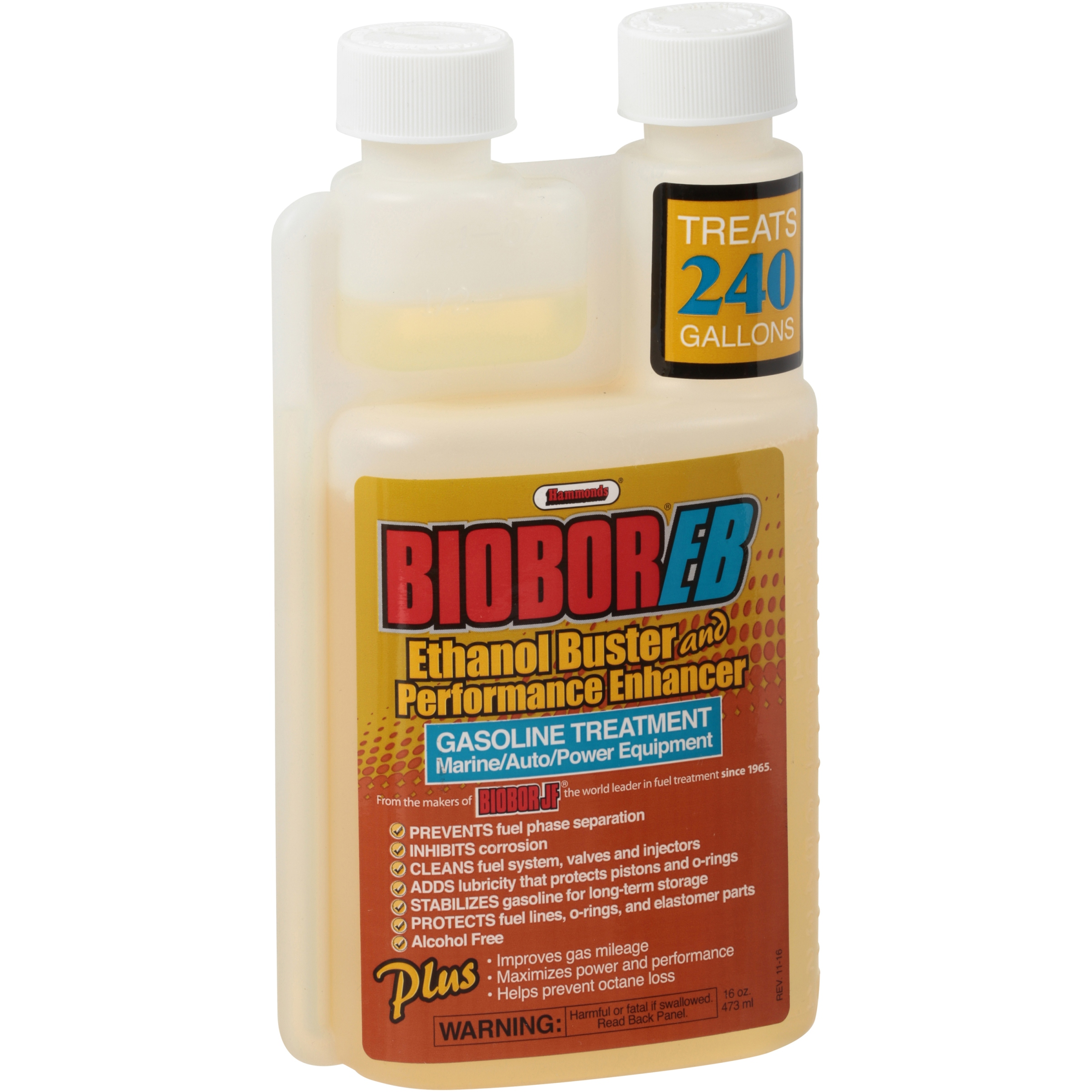 Hammonds® BioBor® EB Ethanol Buster and Performance Enhancer 16 oz. Bottle