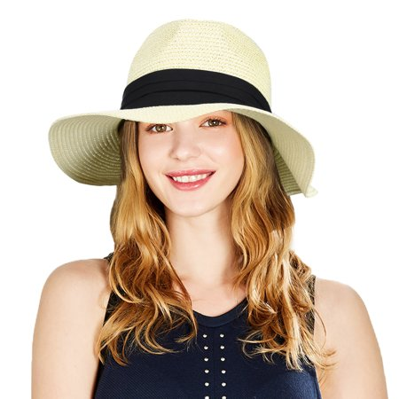Fitbest - Men Womens Cowboy Hat-Fitbst Men Women Western Cowboy Hat Chic  Straw Cowboy Hat Fashionable Straw Sun Cap Wide Brim Cowboy Hat Breathable  Cowboy ... ed369adae9c