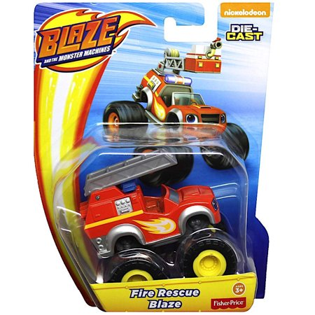 Fire Rescue Blaze Monster Truck Diecast Vehilce](Rescue Truck)