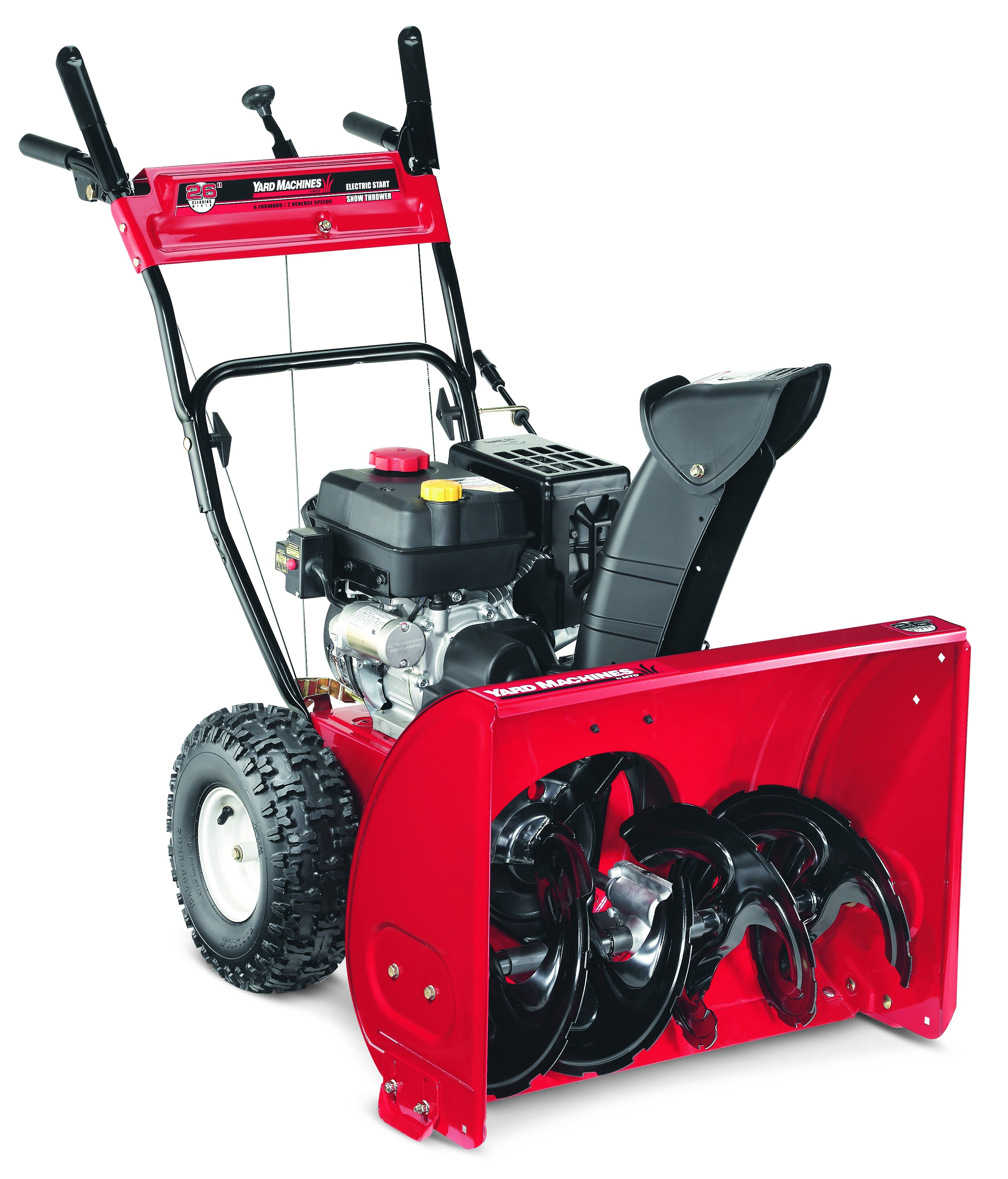 "Yard Machines 26"" 208cc Two-Stage Snow Blower with Electric Start by MTD Products"