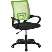 Home Office Chair Ergonomic Desk Chair Mesh Computer Chair with Lumbar Support Armrest Executive Rolling Swivel Adjustable Mid Back Task Chair for Men Women Adults(Black/Green/Orange/Red/Blue)