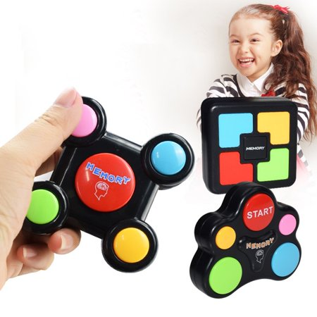 Children Puzzle Memory Game Console LED Light Sound Interactive Toy - image 1 de 10