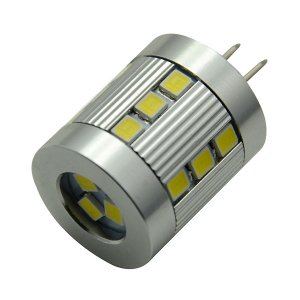 Multipack of THREE (3) of LED High Brightness 3.5W (Eq to 35W Halogen) G4 12V AC/DC Lamp