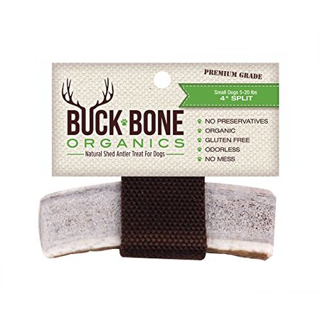 Natural Elk Antler - Elk Antler Dog Chews by Buck Bone Organics ~ 4