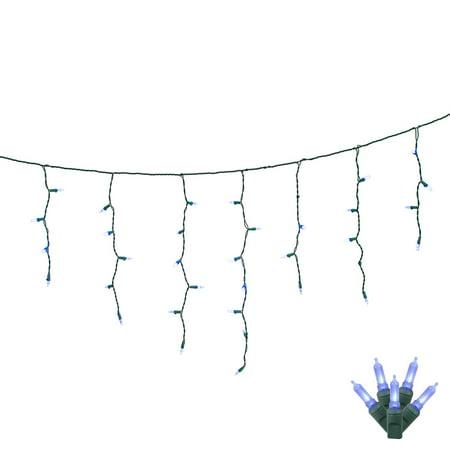 Vickerman Blue LED M5 Single Mold String Lights, 70