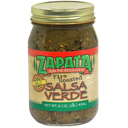 Zapata Fire Roasted Mild Salsa Verde, 16 oz (Pack of 6)