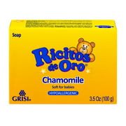 Ricitos De Oro Baby Soap 3.5 Oz