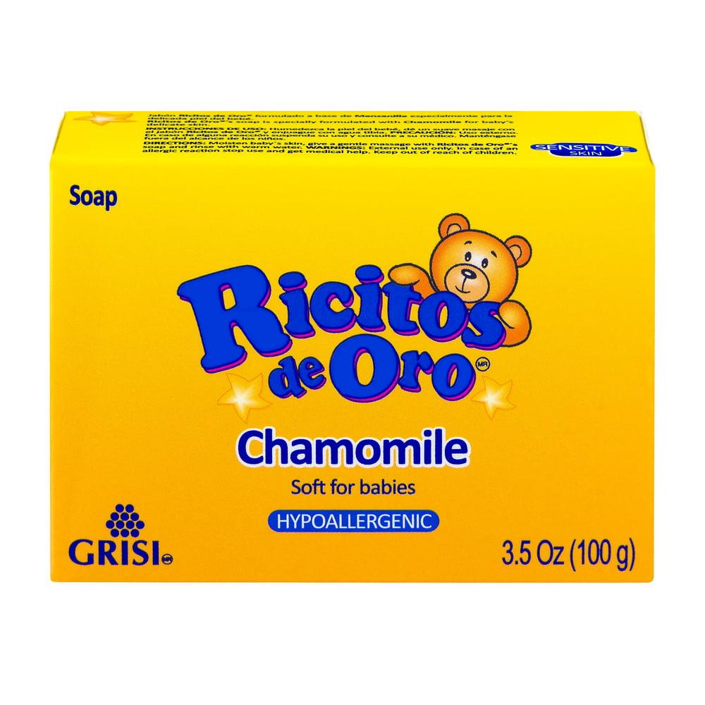 Ricitos De Oro Baby Soap 3.5 Oz