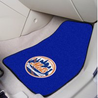 """New York Mets 2-pc Carpeted Car Mats 17""""x27"""""""