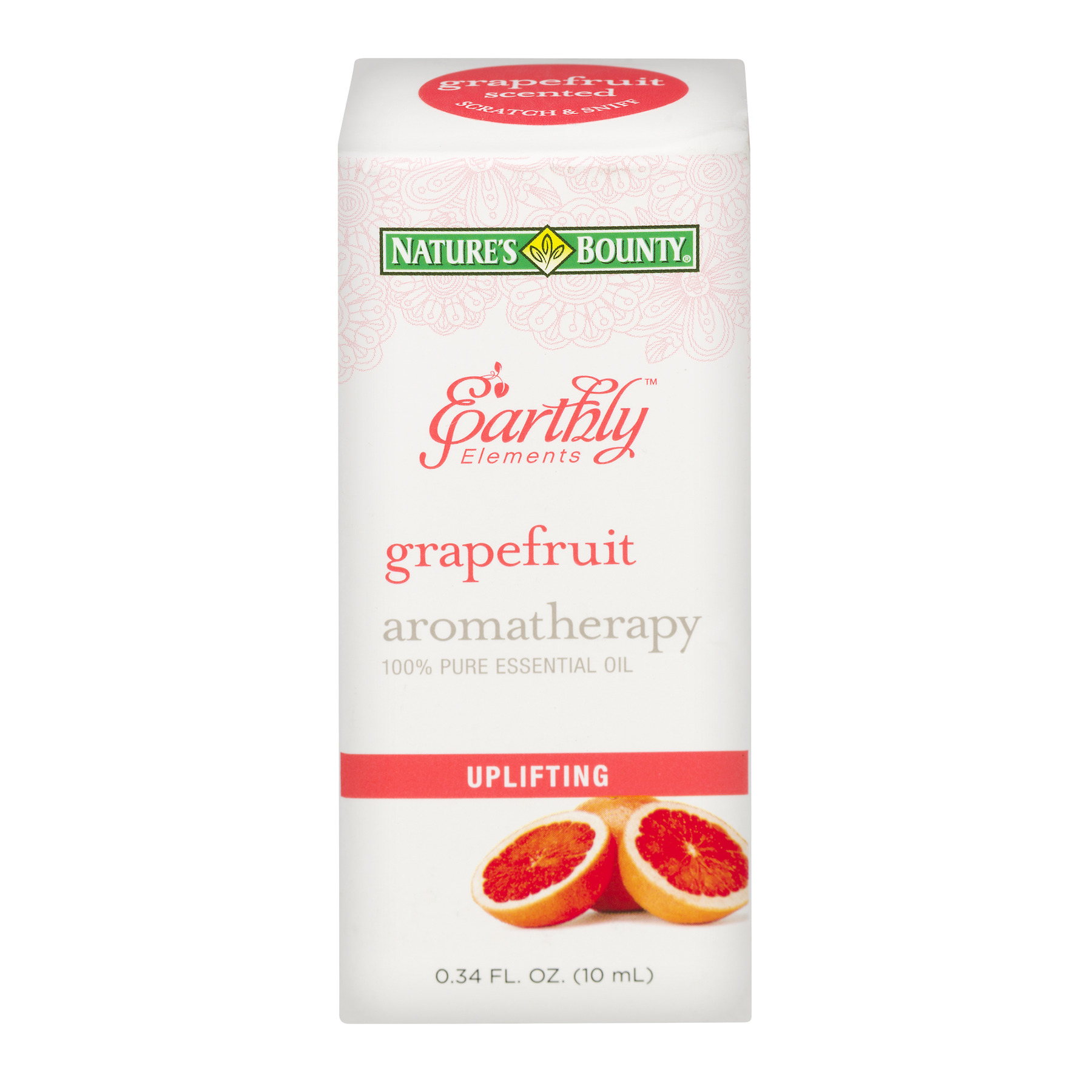 Nature's Bounty® Earthly Elements Grapefruit Essential Oil, 0.34 Fl Oz.