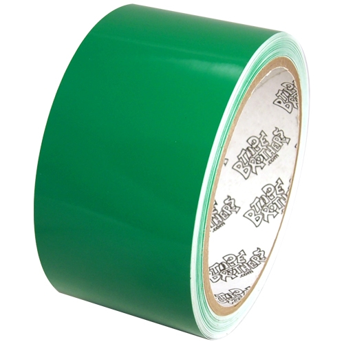 "Tape Planet 3 mil 2"" x 10 yard Roll Light Green Outdoor Vinyl Tape"