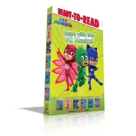 Read with the PJ Masks! : Hero School; Owlette and the Giving Owl; Race to the Moon!; PJ Masks Save the Library!; Super Cat Speed!; Time to Be a Hero](Watchmen Night Owl)