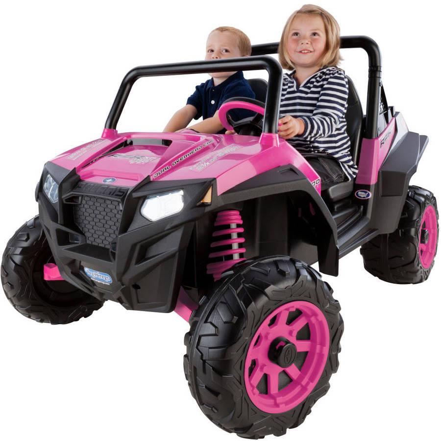 Peg Perego Polaris Ranger RZR 900 12-Volt Battery-Powered Ride-On, Pink