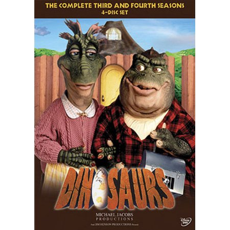 Dinosaurs: The Complete Third & Fourth Seasons (DVD) (Australian Tv Series Dvd)