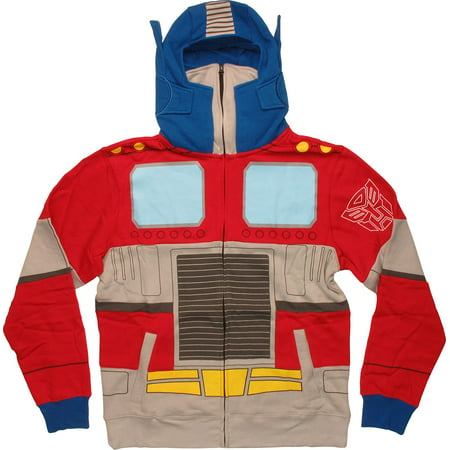 Cartoon Optimus Prime Costume Hoodie (Cartoon Diy Costumes)