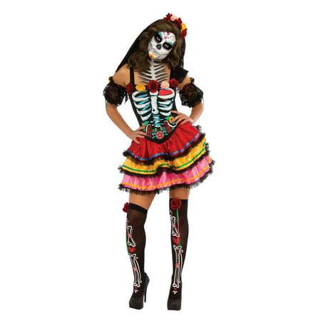 Flamenca Muerta Halloween (SENORITA MUERTA WOMENS)