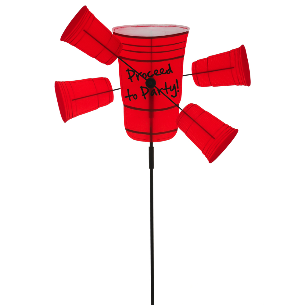 Proceed to Party Red Cup Petal Wind Spinner by EVERGREEN ENTERPRISES