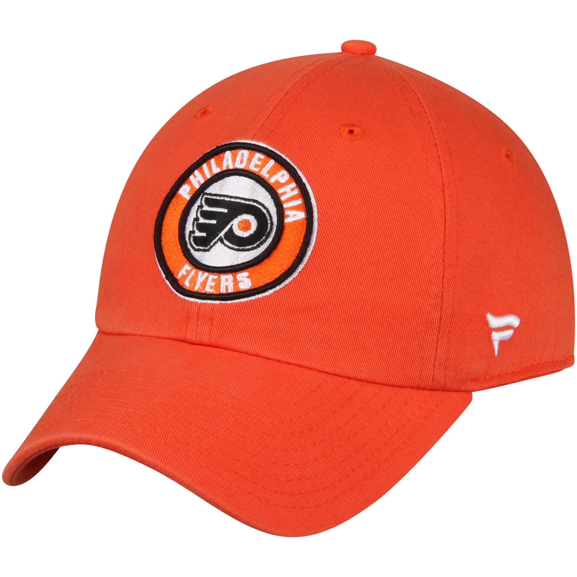 Philadelphia Flyers Fanatics Branded Title Fundamental Adjustable Hat - Orange - OSFA