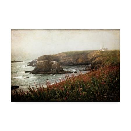 Trademark Fine Art 'Coastal Mist' Canvas Art by Debra Van Swearingen