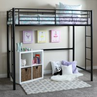 Premium Twin Metal Loft Bed by Manor Park