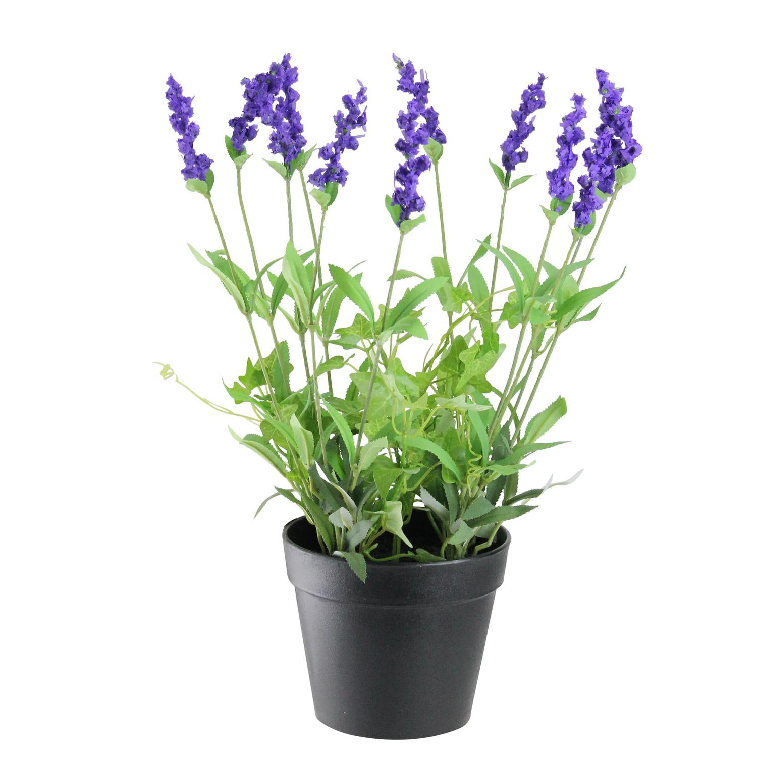 """18"""" Potted Artificial Flowering Lavender Plant"""