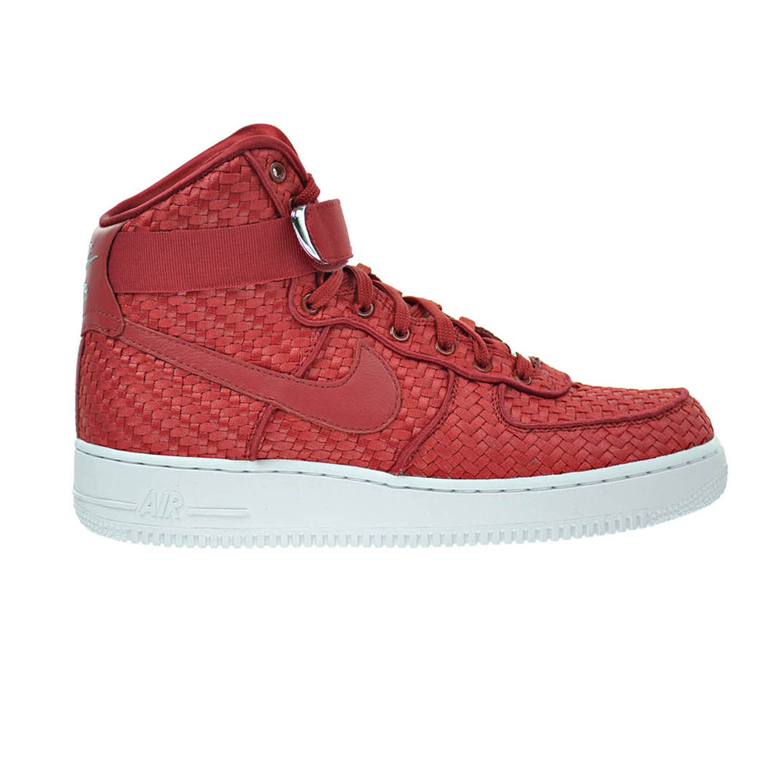 Nike Air Force 1 High '07 Lv8 Woven Men's Shoes Gym Red/W...