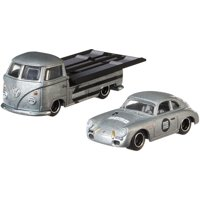 Hot Wheels Porsche 356A Outlaw & Volkswagen T1 Pickup Collector Vehicle
