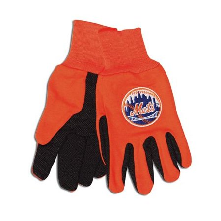 New York Mets Two Tone Gloves - Adult Size - image 1 de 1