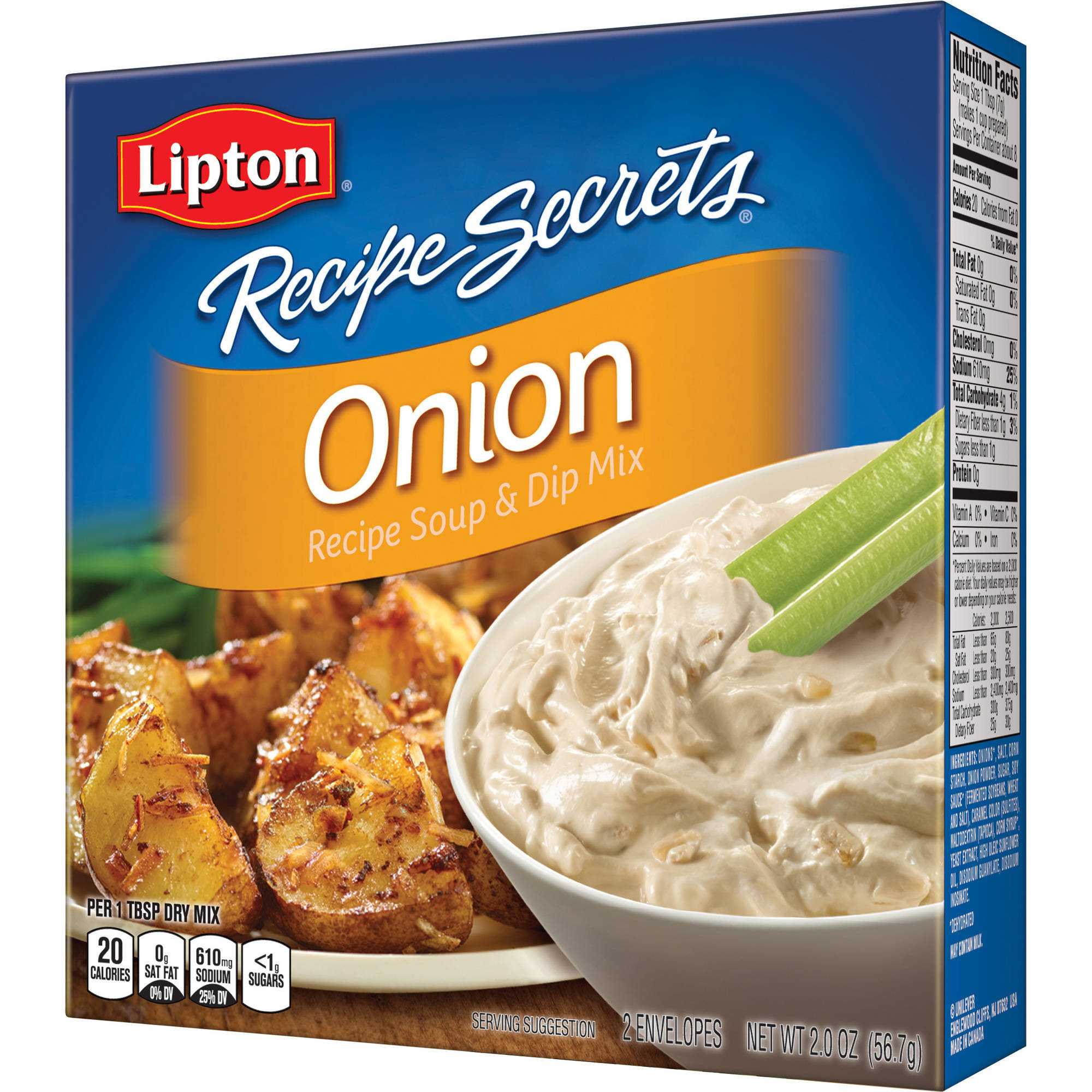 Lipton Recipe Secrets Onion Soup and Dip Mix, 2 oz