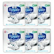 Royale Bathroom Tissue (4 Rolls) (Pack of 6)